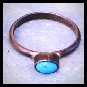 Jewelry - .925 Silver Ring with Turquoise Stone